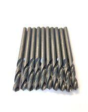 x10 4.5mm HSS STUB SHORT DRILL BITS METAL STEEL 4.50MM PROFESSIONAL *CLEARANCE*
