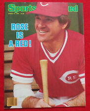 1984 MLB CINCINNATI REDS PETE ROSE - ROSE IS A RED - Sports Illustrated NO LABEL