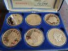 Collectors Mint 6 piece set 24k Gold Double Eagle Proof Barry Goldwater W/ COA