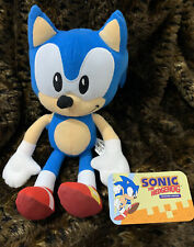 "Toy Factory Large Classic ""Sonic the Hedgehog"" Collector's Edition Plush 12"""
