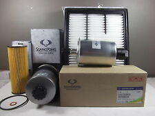 GENUINE SSANGYONG ACTYON SPORTS FILTER PACK (OIL+AIR+FUEL+WATER SEPARATE FILTER)