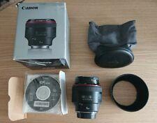 Canon EF 85mm F/1.2L ii USM + B+W F-PRO Filter