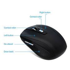 Perman (Ln-Cx557Bk) 1600dpi 2.4Ghz Wireless Optical Mouse Mice with Usb Receiver