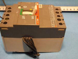 ABB  SACE S1B  Ith-125 Im-1250  Iu-125A  Ue-500V