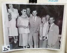 1953 PHOTO OF JAYNE & STU MILLER AT BUSCH ESTATE BALL CLUB PARTY- RARE C#4