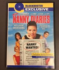 The Nanny Diaries DVD Scarlett Johansson Blockbuster Exclusive Discontinued Rare
