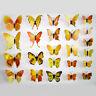 12er 3D Schmetterlinge Wandtattoo Wanddeka Wand Deko Wandtatoo Wandaufkleber