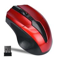Small 2.4GHz Optical Mouse Cordless USB Receiver Computer Wireless For Laptop AU