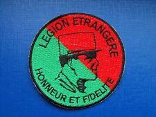 insigne tissu militaire armée écusson patch légion étrangère Honneur Fidélité