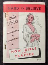 1939 HARD TO BELIEVE by Crump J. Strickland VG 4.0 Caro Book Co Paperback
