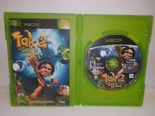 Tak 2 The Staff of Dreams Nickelodeon XBOX 2004 Complete with Manual Rated E
