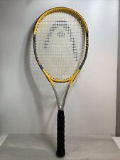 Head Mg Carbon 3001 Xtralong 4 3/8 Grip Oversize Tennis Racquet Raquet Yellow