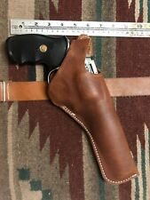 """Fit Smith & Wesson M 25 27 29 629 6"""" Leather Holster Two Position Cross Draw +"""