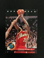 1992-93 Upper Deck Foreign Exchange Dominique Wilkins #FE10 Atlanta Hawks