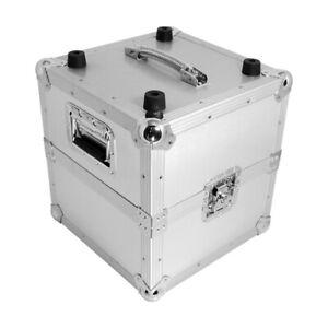 Zomo MP-100 By 2 Silver Record Case Lp-Case Dj Vinyl Case 50/50 Division