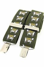 Cow Braces Dairy Cow Freisan Braces /suspenders Ideal Farming Gift Boxed NEW