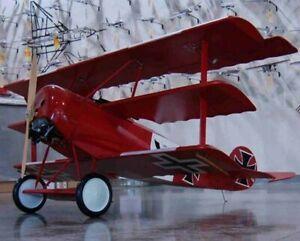 Fokker DR.I Museum Quality Kit (1/8 Scale Park Flyer Kit) by Arizona Models,