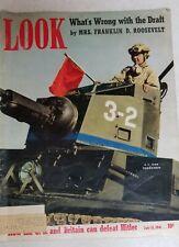 LOOK Magazine Vintage July 15, 1941 Mrs. Franklin D Roosevelt