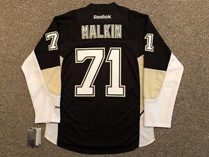 Evgeni Malkin - Pittsburgh Penguins - 2011-16 Reebok Premier Jersey sz Medium