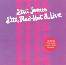 Etta James:  Etta, Red-Hot & Live CD