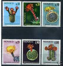 MONACO - 1974 - yvert 997/1002 - Plantes - neufs**