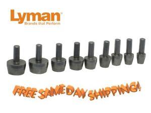 Lyman Case Trimmer 9-Pilot Multi-Pack # 7822202 New!