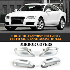 Ally Chrome Mirror Covers Fit For AUDI A7/S7/RS7(11-17)with side line assistant