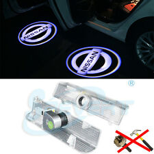 2x CREE Led HD Door Courtesy Laser Projector Logo Ghost Shadow Lights for Nissan