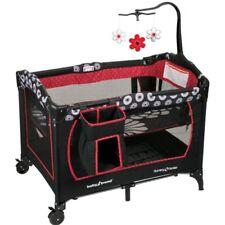 Red Baby Nursery Bassinet Infant Crib Sleeper Furniture Bed Newborn Diapers