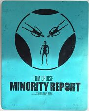 MINORITY REPORT – BLU RAY STEELBOOK VF – TOM CRUISE STEVEN SPIELBERG