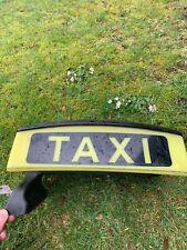 Taxischild Mercedes Dachschild Taxi Dachzeichen Beleuchtung TOP Zustand