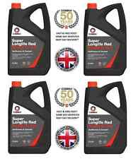 LONGLIFE 20L RED ANTIFREEZE SUMMER - WINTER COOLANT RTU 20 LITRE GL12+ 20 LITRES