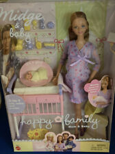 New ListingBarbie Happy Family Pregnant Midge and Baby Girl Doll Vintage 2002 Mattel Rare
