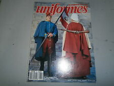 Revue uniformes maison militaire Roi de France Chanfrein et armes royal Allemand