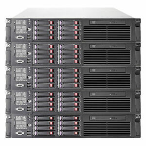 HP PROLIANT DL380 G6 8 CORE SERVER 2x  XEON 2.26GHZ 64GB RAM 2X SAS HDD 10k