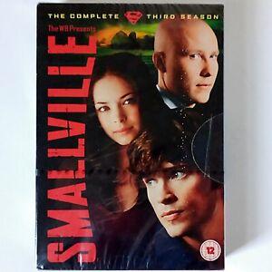 Smallville Season 3 (DVD Boxset, 2006 Warner) New & Sealed