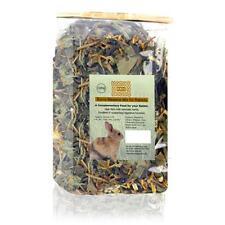 Burns Natural Meadow Mix High Fibre Tasty Herb Blend Rabbit Food Snack 100gm