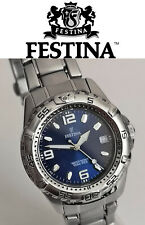 Festina 16171 Japan movt men's sports quartz wristwatch date indicator