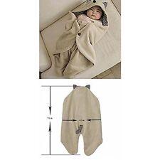 Infant Arrullo Regulable Bebé Pañoleta Manta De Algodón Bolsa Para Dormir