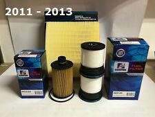 JEEP GRAND CHEROKEE WK 3.0L V6 DIESEL Filter Kit - OIL AIR FUEL FILTERS 11-13