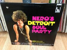 "PAUL NERO LP "" Nero's Detroit Soul Party "" LIBERTY Canada 1968'"
