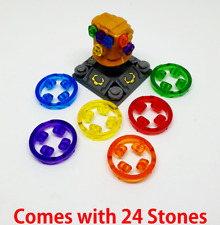 Lego Fit Infinity 24 Stones Gauntlet With Avengers Thanos War Minifigures UK