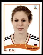 Panini FIFA World Cup 2011 Germany Women Sticker #39 Kim Kulig Germany