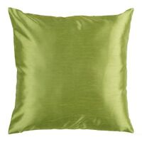 "Solid Sage Green Cover Case Decorative Pillow Zippered Closure 18"" x 18"" 2 Piece"