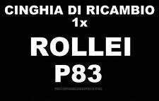 CINGHIA DI RICAMBIO MOTORE 1 x PROIETTORE SUPER 8 mm ROLLEI P 83
