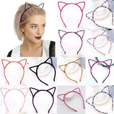 Women's Plush Headband Cat Ears Hair Band Fashion Headbands Korean Hairband New