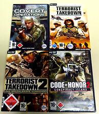 Giochi PC COLLEZIONE terrorista takedown Covert Operations Code of Honor 2 Shooter