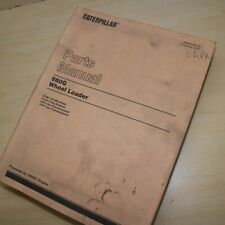 Cat Caterpillar 980g Wheel Loader Parts Manual Book List Front End 9cm Series