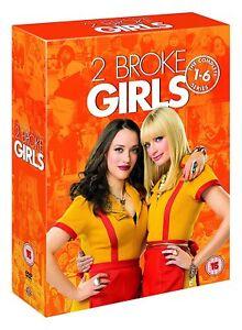 2 BROKE GIRLS COMPLETE SERIES SEASON 1 2 3 4 5 6 DVD SET R4 17 DISCS 1-6