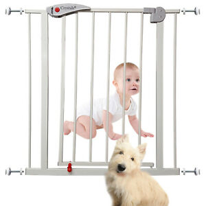 Home Baby Safety Gate Pet Dog Barrier Stair Doorway Safe Secure Guard (70x76cm)